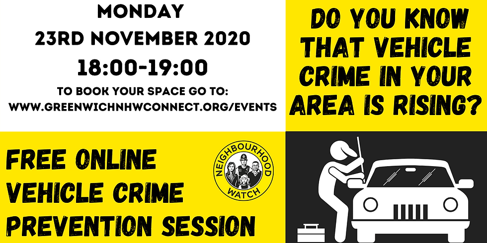 Vehicle Crime Crime Prevention Session