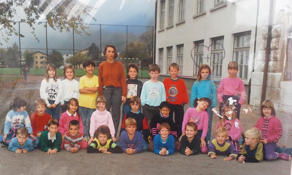 Die 1. Klasse mit Frau Achermann