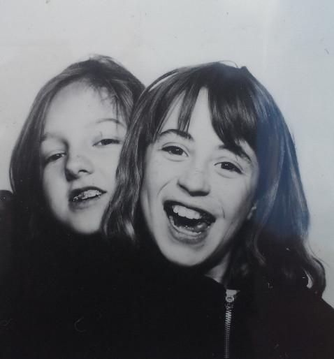 Carol Hutmacher und ich
