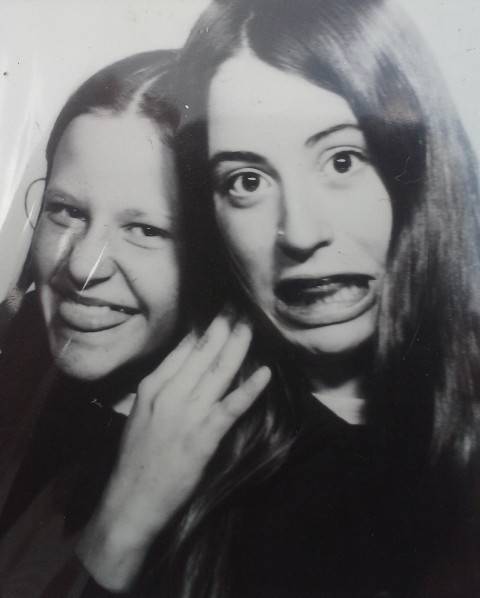 Fabienne Moser und ich