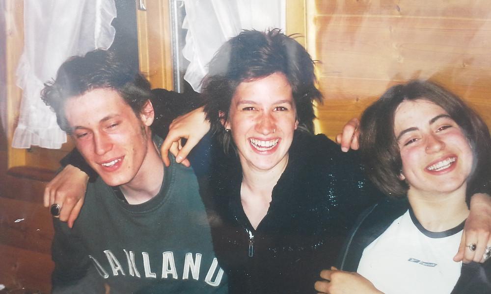 Jan Daeppen, Nora Spiess und ich