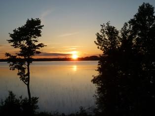 Sonnenuntergang in Wiarton, Ontario