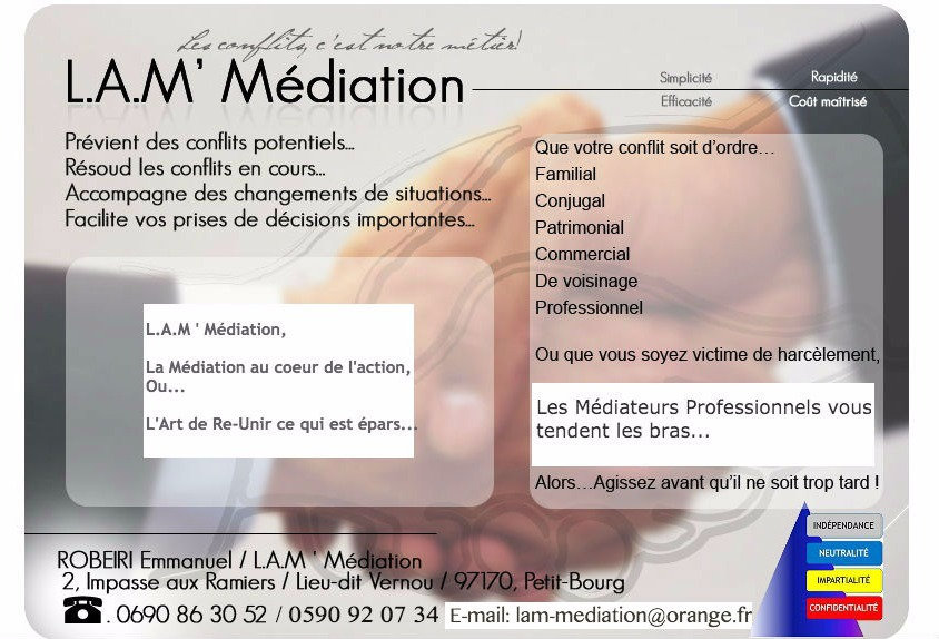 Médiation Guadeloupe