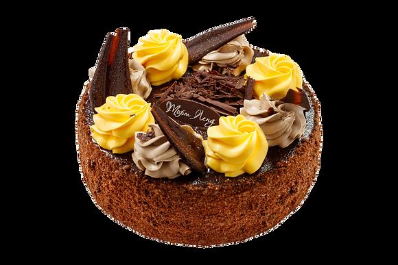"""Торт """"Шоколадно лимонний"""""""