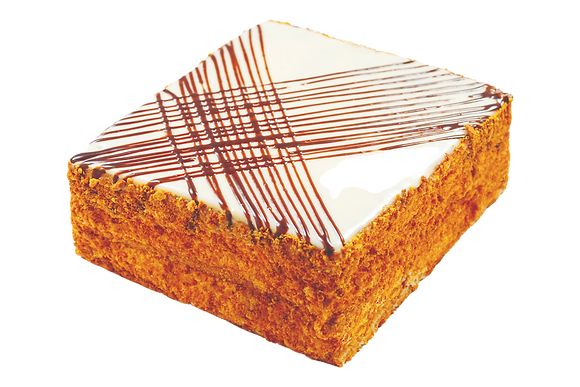 """Торт """"Медово-листковий з грецькими горіхами"""""""