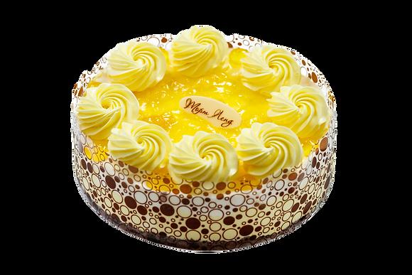 """Торт """"Творожний з ананасом"""""""