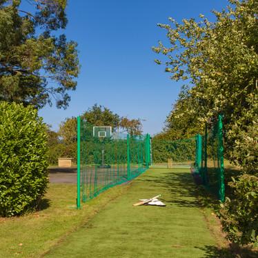 Cricket nets for budding batsmen