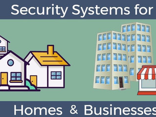 Security Systems for Homes & Businesses