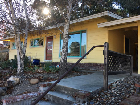 Paso Robles Downtown Bungalow Brightened by San Luis Obispo House Painters at Trombley Painting Comp