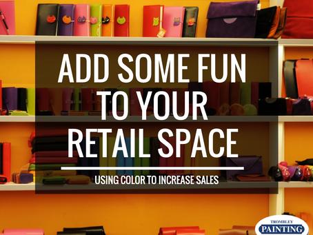 Commercial Paint Colors Affect Shoppers' Moods