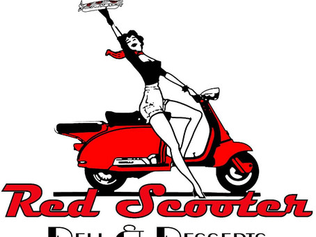 Commercial Painting Contractors Trombley Painting Go Red Velvet for Red Scooter Deli