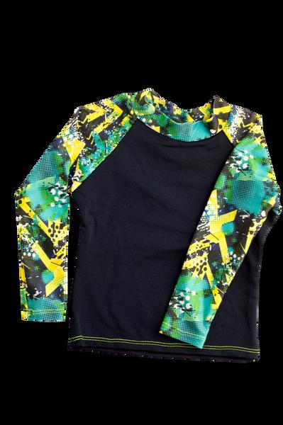 Black rash vest