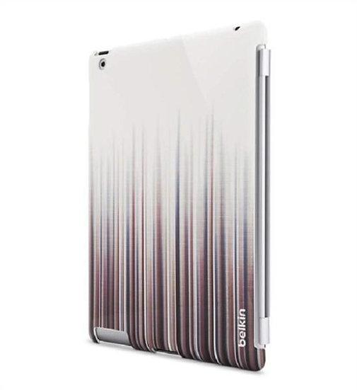 Belkin Snap Shield Remix For Ipad 3 In White/Darklines