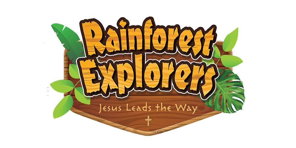 Rainforest Explorers VBS - Jesus Leads the Way