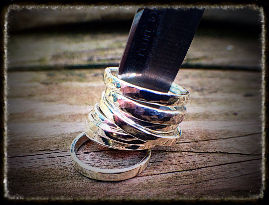 Sterling Silver Wish Ring