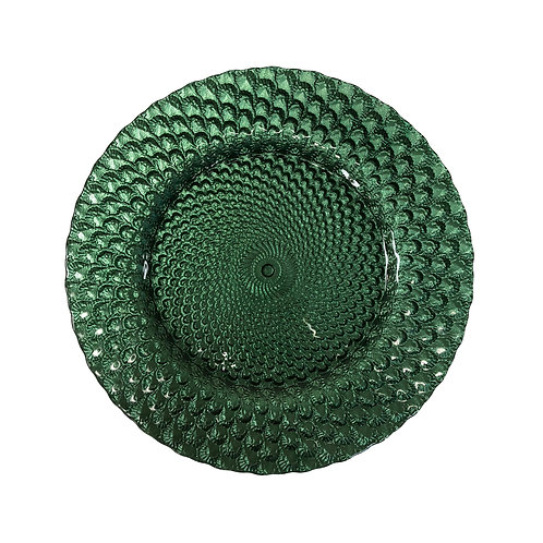 Emerald Capri Charger Plate