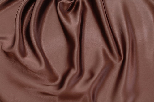 Chocolate Charmeuse Satin Napkin