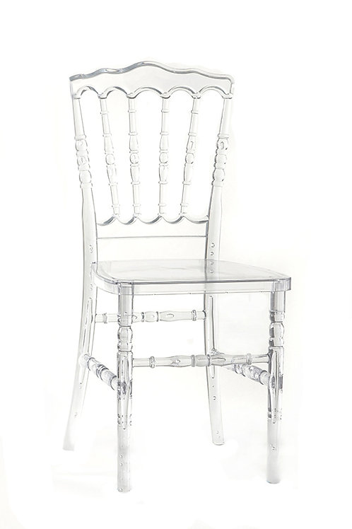 Clear Napoleon Chair