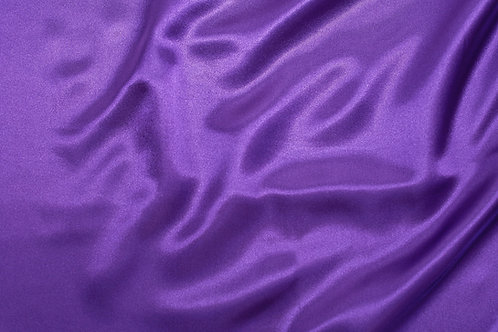 Purple Charmeuse Satin
