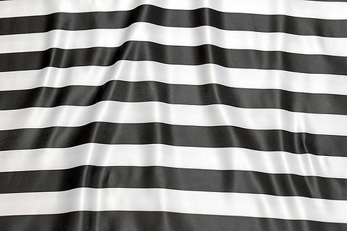 Black & White Striped Napkin