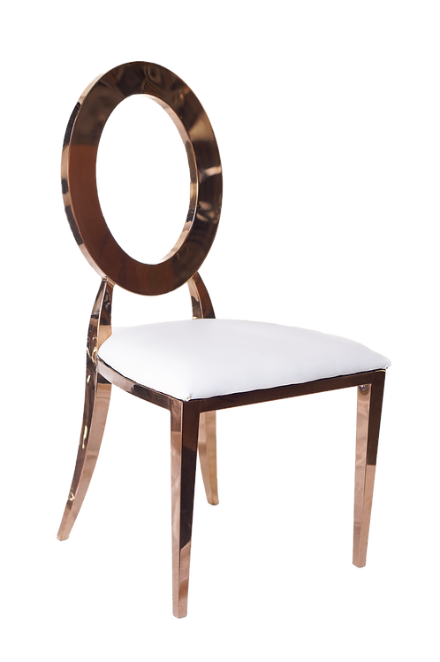 Rose Gold Cosmopolitan Chair