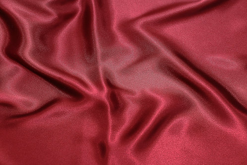 Burgundy Charmeuse Satin Napkin