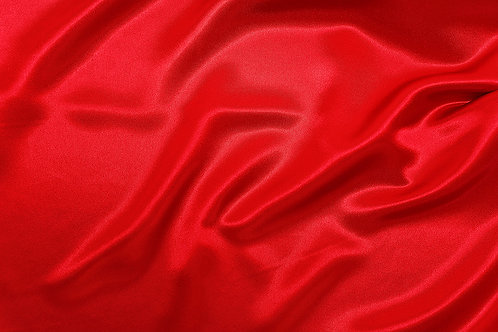 Red Charmeuse Satin Napkin