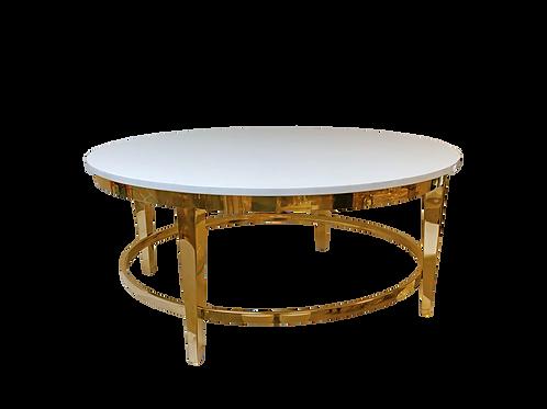 White & Gold Roma Coffee Table