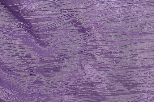 Lilac Crushed Taffeta