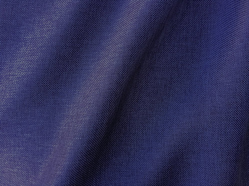 Navy Blue Linen Runner