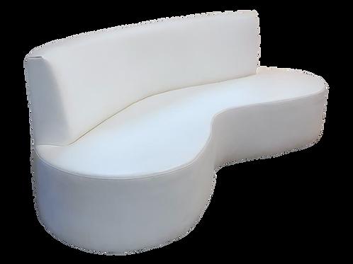 White Roma Sofa