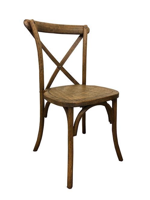 Antique Drifting Crossback Chair