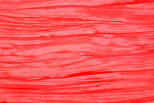 Red Taffeta Napkins