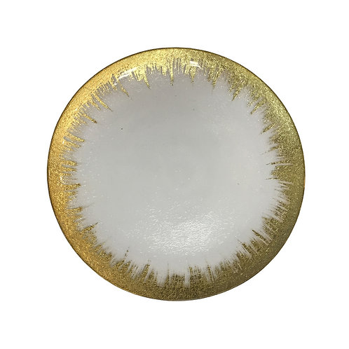 Gold Solaris Charger Plate