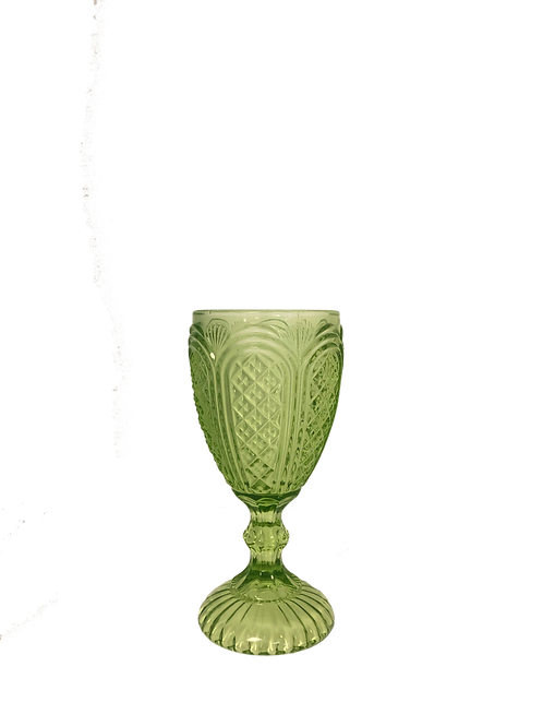 Green Inez Goblet