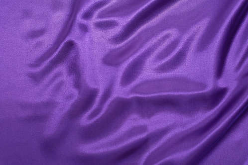 Purple Charmeuse Satin Napkin