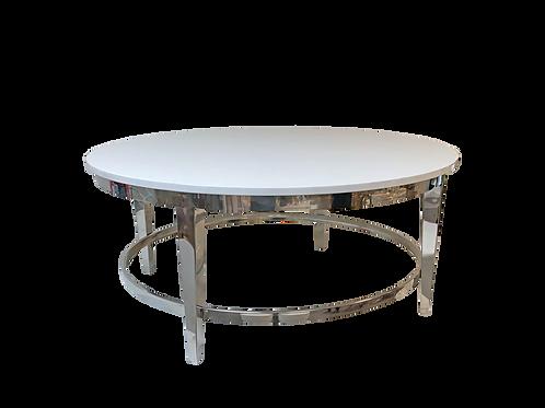 White & Silver Roma Coffee Table