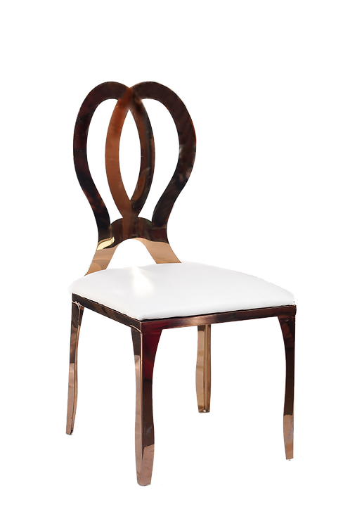 Rose Gold Infinity Chair