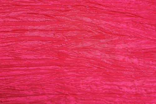 Hot Pink Crushed Taffeta