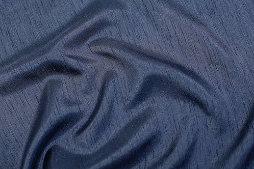 Navy Blue Shantung Runner