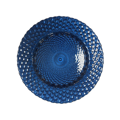 Blue Capri Charger Plate