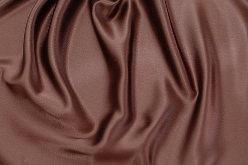Chocolate Charmeuse Satin