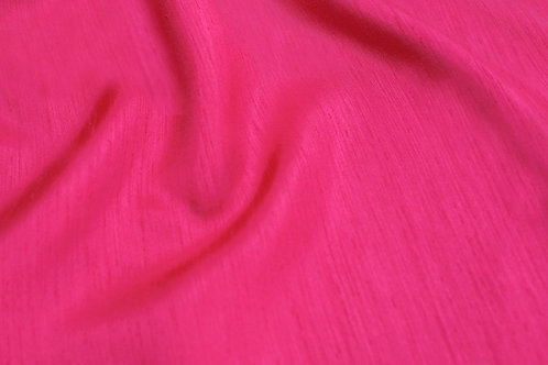 Hot Pink Shantung Runner