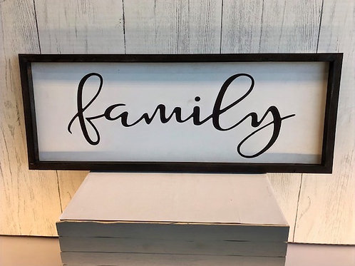 Family Word Art