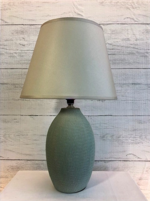 Small Teal Lamp