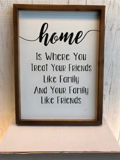 Home Is Where... Word Art