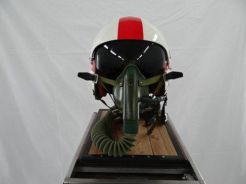 Casque de pilote de chasse Drapeau de guerre japonais