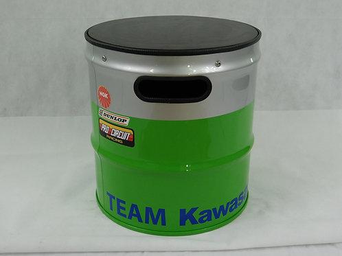 Support moto / Tabouret d'atelier TEAM KAWASAKI