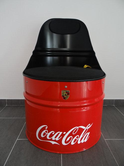 Fauteuil Porsche/Coca-Cola
