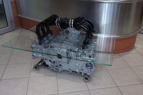 Table basse moteur Porsche